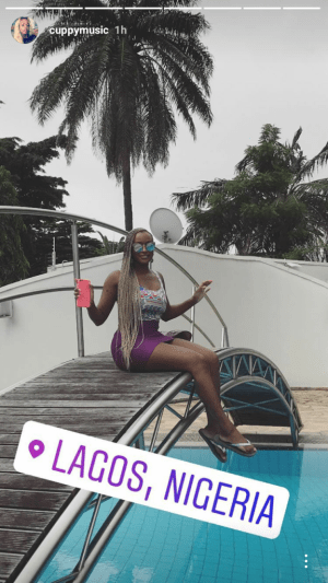 DJ Cuppy Shows Off Her Billionaire Father